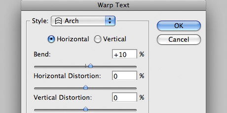 Step 4 - Warp Settings