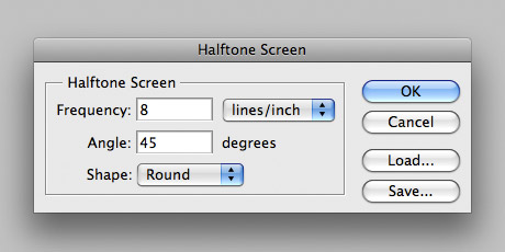 Step 11 - Halftone Settings