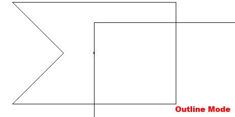 Step 19 - Outline Mode