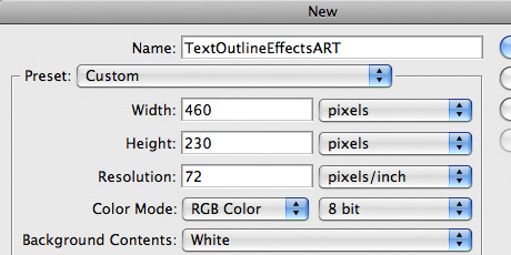 Photoshop Text Outline Effects | The Design Playbook