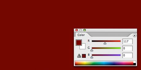 Medium Red Background Fill